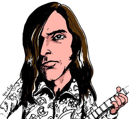 John Cipollina Quicksilver Messenger Service caricature likeness