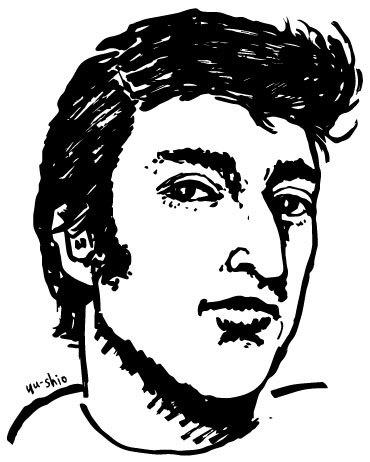 John Lennon caricature likeness