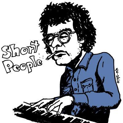 Randy Newman caricature likeness