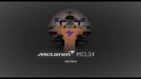 マクラーレンMCL34がリーク?