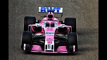 レーシングポイントがブックメーカーとタイトルスポンサー契約