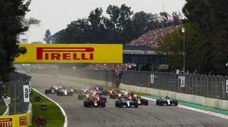 F1メキシコGP終了のお知らせか?