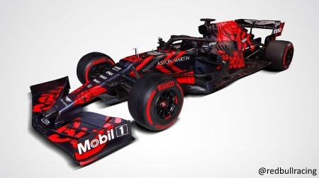 レッドブル、2019新車「RB15」を発表