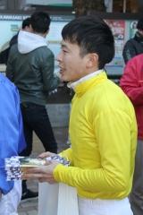 190101 2019年川崎競馬初日騎手お出迎え-12