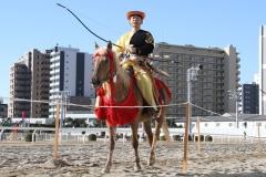190103 川崎競馬流鏑馬騎射式-05