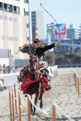 190103 川崎競馬流鏑馬騎射式-08