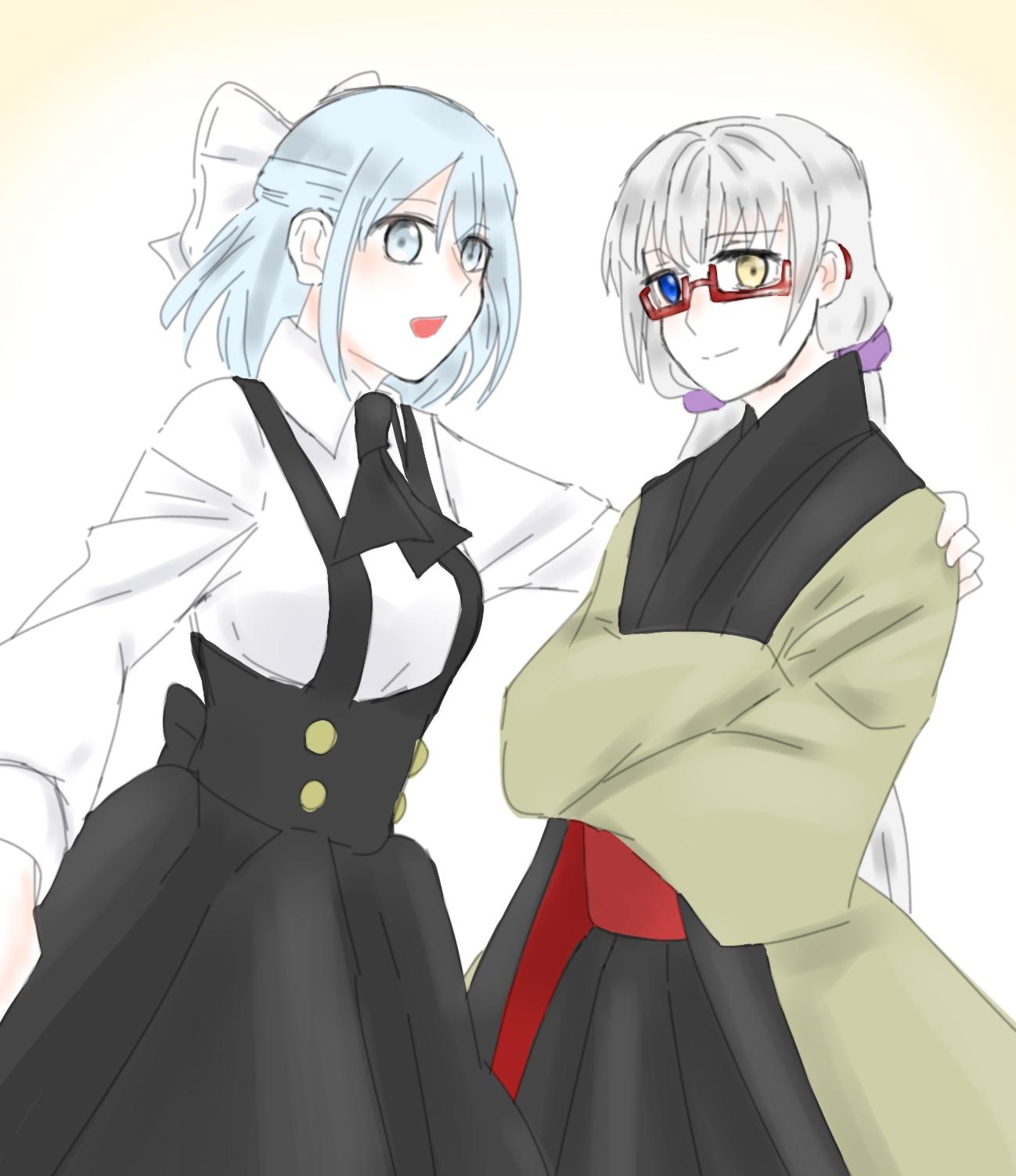 ミカコとミライちゃんー!かわいい!
