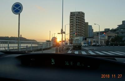夕陽の江ノ島