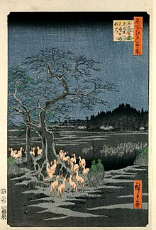 220px-Hiroshige-100-views-of-edo-fox-fires.jpg