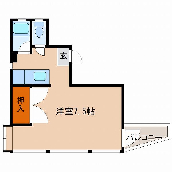エレメント大橋(7号室)