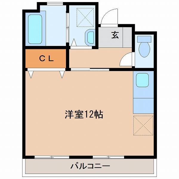 3UMK宮崎ビル(1号室)