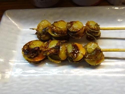 17ホタテ串焼き