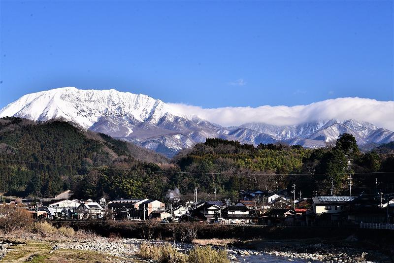 日野川と大山1