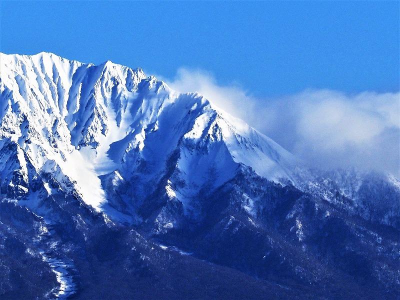 明智峠からの大山4