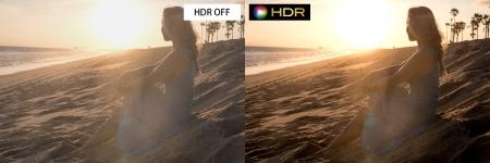 HDRと非HDR