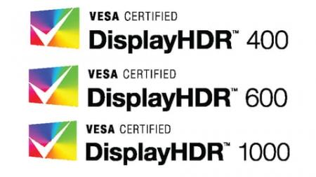 DisplayHDR 400 ~ 1000