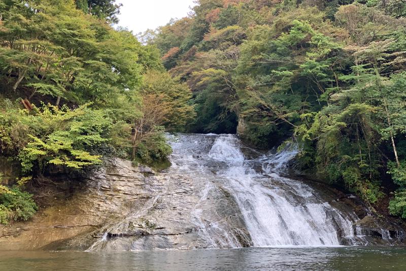 房総 いすみ 養老渓谷  粟又の滝の上の上