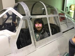 航空科学博物館戦闘機