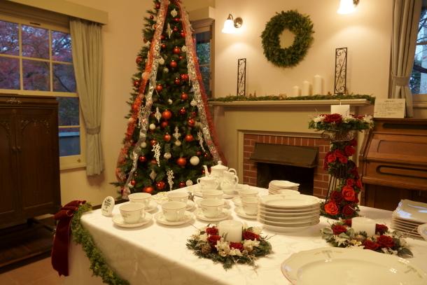 西洋館のクリスマスソニー00066595