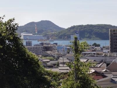 皿倉山八幡方向を望む