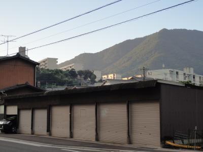 矢筈山の夜明け