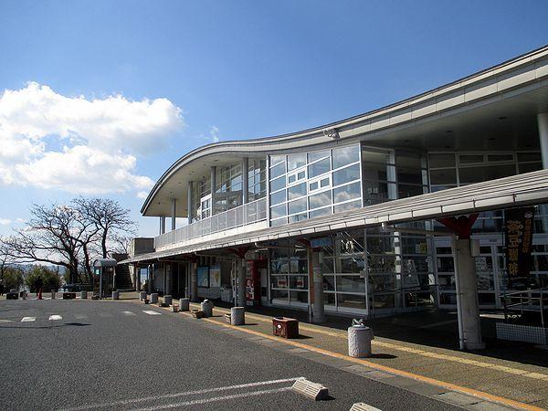 道の駅「秋鹿なぎさ公園」