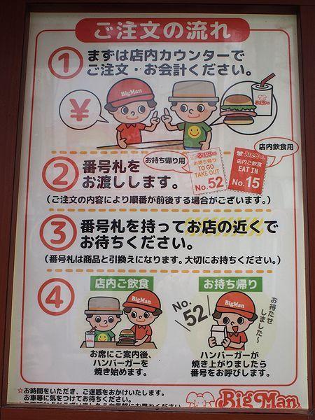 注文方法@BigMan京町本店