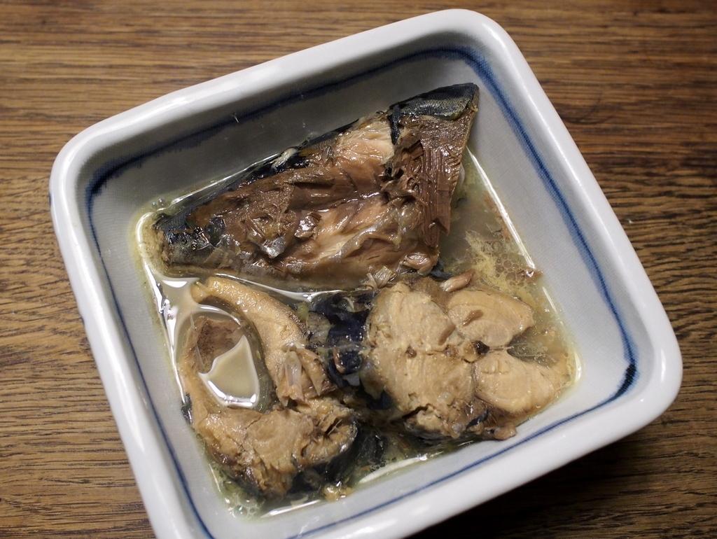 ■ サバの水煮(自作)