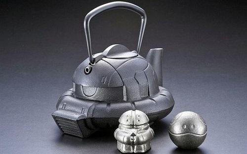 ザクの鉄瓶