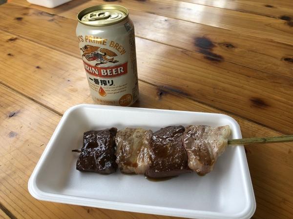 肉とビール