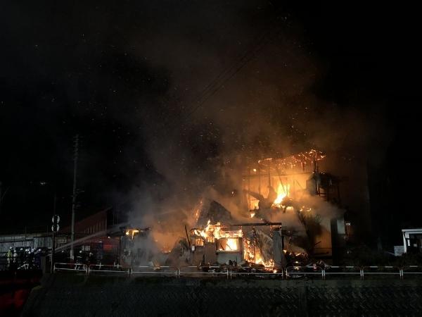 2018-11-14 中央町火災