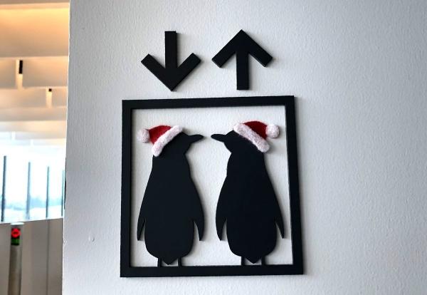 2018-12-22 ペンギンの表示