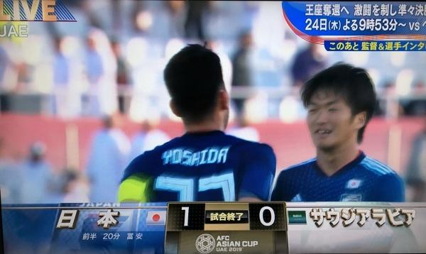 2019-01-21 サッカー