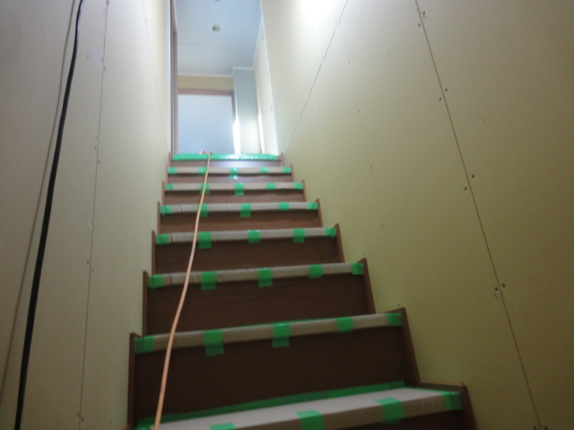 11/14 北 階段