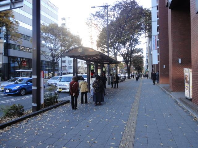 バス停「二日町北四番丁」泉方面