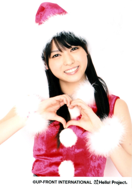 PINKのノースリーブ&ミニスカートのクリスマスウェアー 矢島舞美 9
