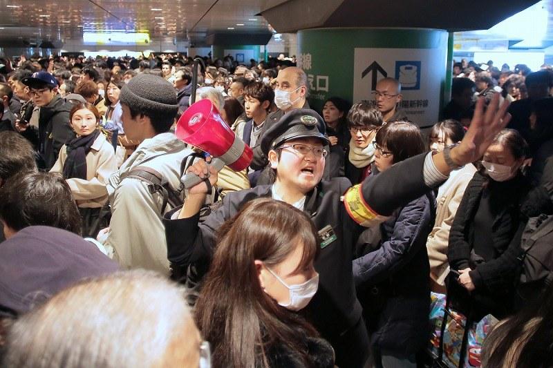 東北新幹線が故障 80分程度の遅