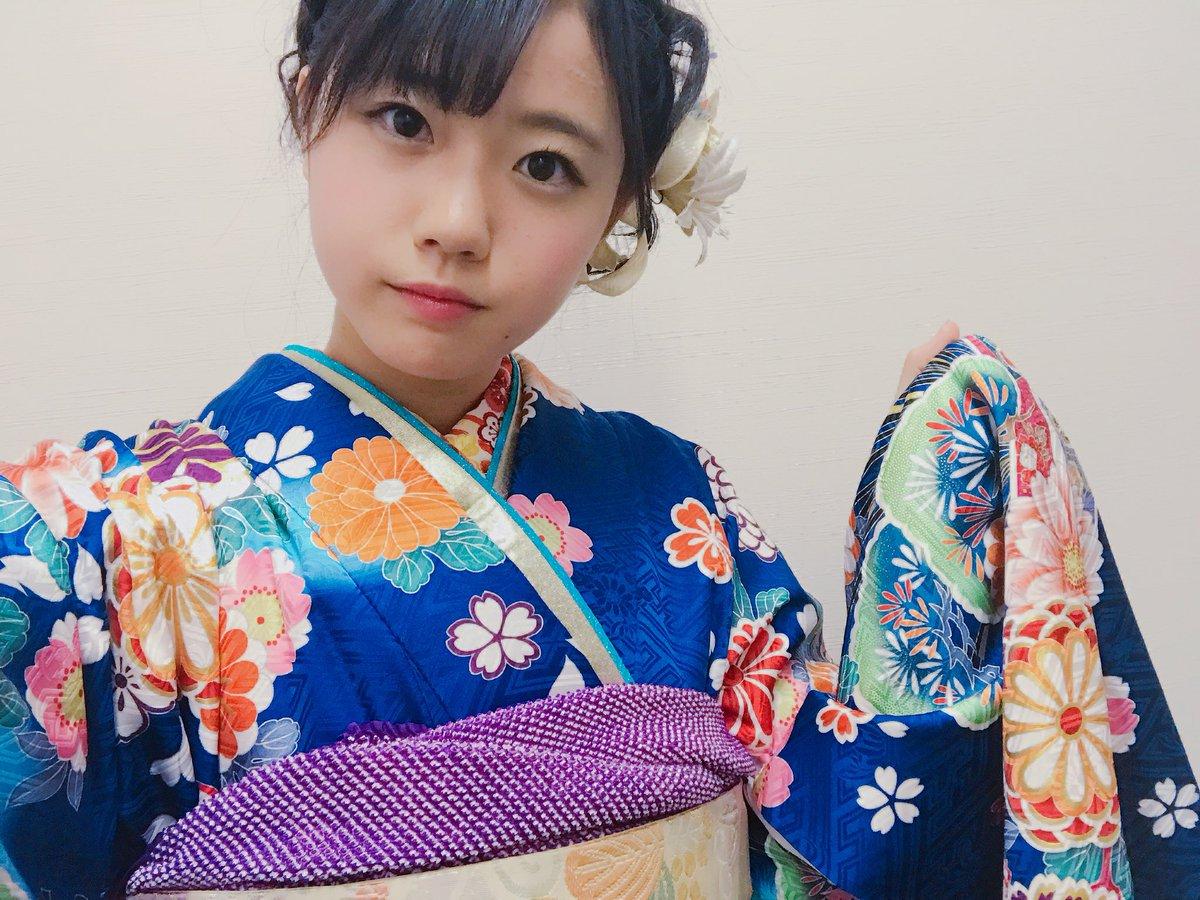 瀧野由美子 2019 晴れ着 済み