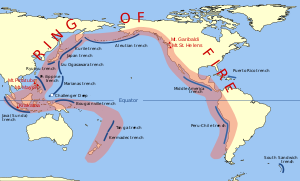 環太平洋火山帯 画像は、「Wikipedia」より引用