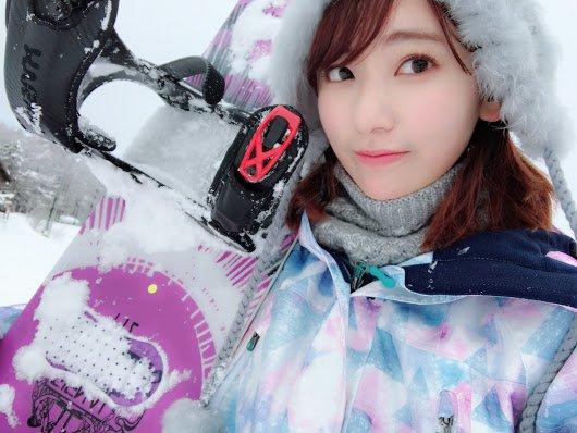 妙高杉ノ原スキー場で初スノボ 宮脇 2018→2019 冬 5 済み
