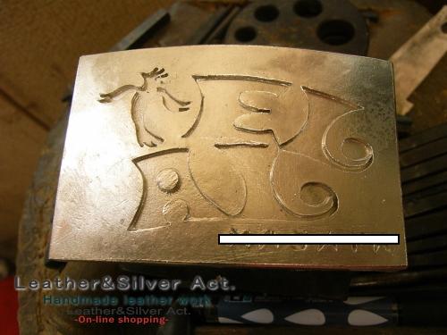 オーダーバックル シルバー 純銀