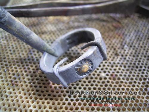 オーダーメイド シルバーリング 製作過程