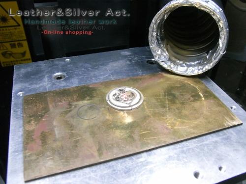レーザー彫刻 貴金属 彫り