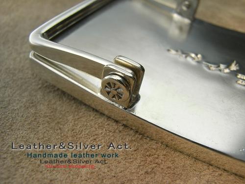 オーダーバックル 純銀 シルバー