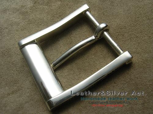 オーダーバックル 銀
