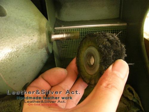 集塵機 バフ 彫金 交換