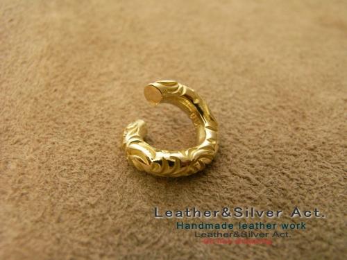ゴールド k18 丸カン