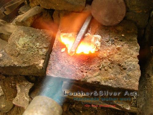 彫金 タガネ製作