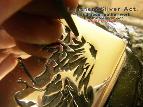 シルバーバックル オーダーメイド 手彫り