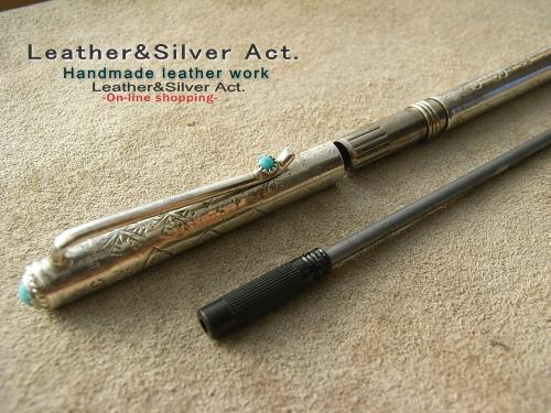 シルバー ターコイズ ボールペン